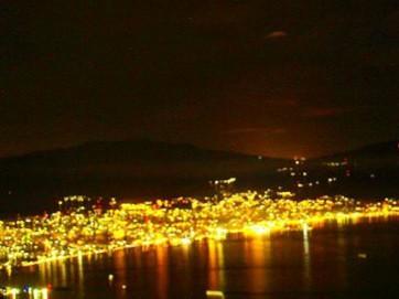 Mount Tumpa at Night