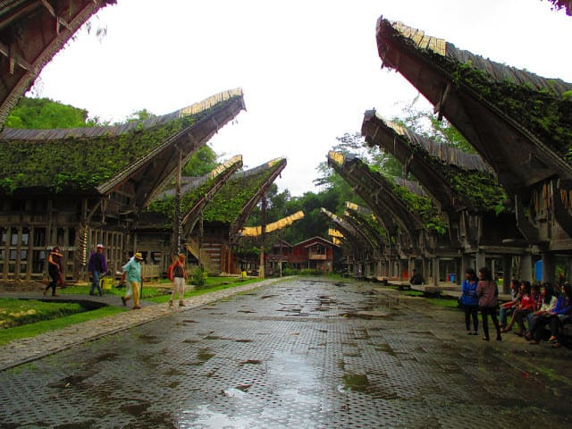 Tongkonan house at Kete Kesu