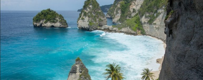 Diamond Beach is A Hidden Paradise in Nusa Penida